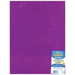 Glitter Foam Sheet Purple 2mm thick 9 X 12 Inches