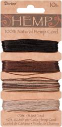 Hemp Cord Set - Assorted Earthy Colors - 170 feet