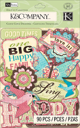Blossom Cardstock Die-Cuts Words & Icons