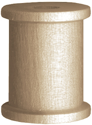 Wood Turning Shapes Spool 0.75 X 0.625 Inches