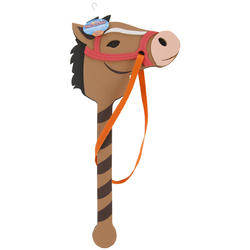 Horse on a Stick Assorted Colors 22 to 24 inches