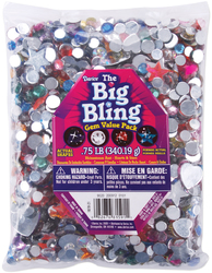 Rhinestones Heart Star and Round Assorted Colors and Sizes