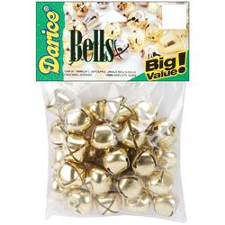 Jingle Bells Gold 0.75 Inch