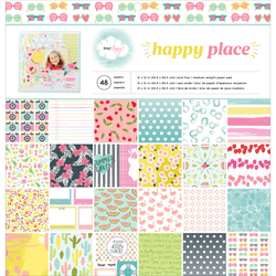 Happy Place Collection 12 X 12 Paper Pad