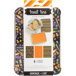 Homemade With Love Food Craft Treat Tins Halloween Large