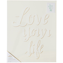 Color Reveal Collection Watercolor Panel 16 X 20 Love Your Life