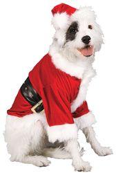 Christmas Pet Costume Santa Claus Small
