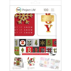 Becky Higgins Project Life Christmas Deck the Halls Edition Collection Value Kit