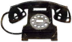 Sizzix Tim Holtz Vintage Telephone Bigz Die