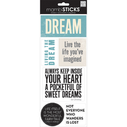 Me And My Big Ideas Dream Sayings Stickers