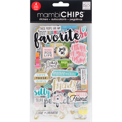 Me And My Big Ideas MAMBI Sticks Chipboard Stickers Favorite