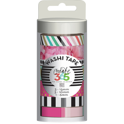 Me and My Big Ideas Create 365 Collection Washi Tape Peony Florals