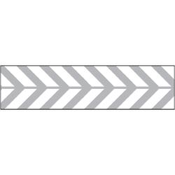 Glitter Ribbon Silver Arrows 0.875 Ch 3 Yards