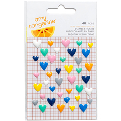 Finders Keepers Collection Enamel Hearts
