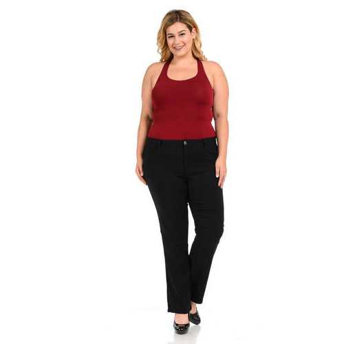 926 Women's Jeans - Plus Size - High Waist - Push Up - Straight - Style W1506-1