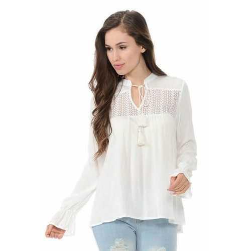 Diamante Women's Blouse - Wide - Style BLOUSE-6187295