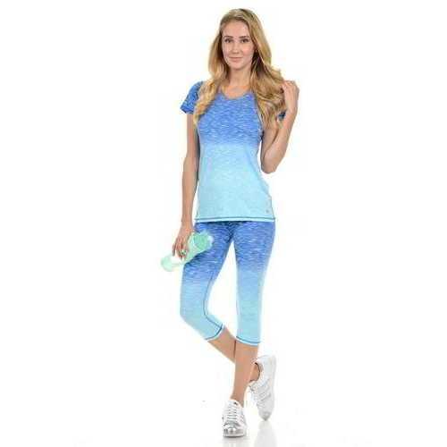 Diamante Women's Power Flex Yoga Pant Legging Sportswear - Style C004C