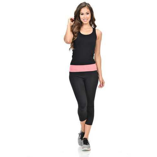 Diamante Women's Power Flex Yoga Pant Legging Sportswear - Style P162021
