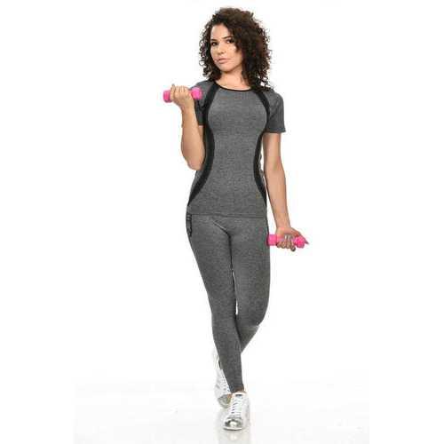Diamante Women's Power Flex Yoga Pant Legging Sportswear - Style C163