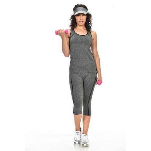 Diamante Women's Power Flex Yoga Pant Legging Sportswear - Style C164