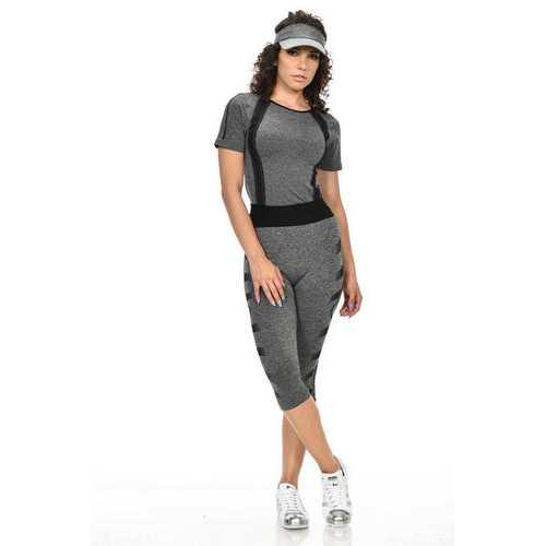 Diamante Women's Power Flex Yoga Pant Legging Sportswear - Style C167