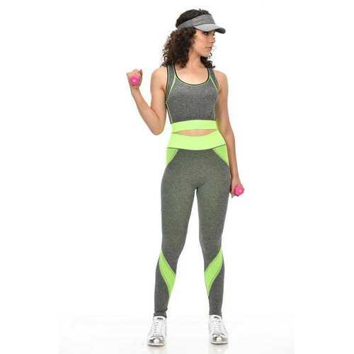 Diamante Women's Power Flex Yoga Pant Legging Sportswear - Style C170