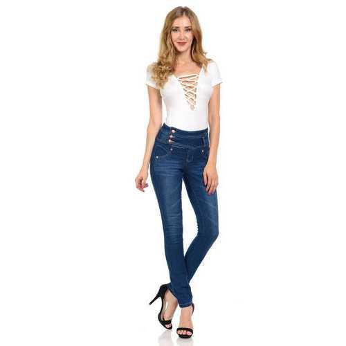 Diamante Women's Jeans - Push Up - Skinny - Style G819