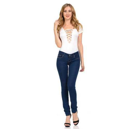 Diamante Women's Jeans - Push Up - Skinny - Style K241