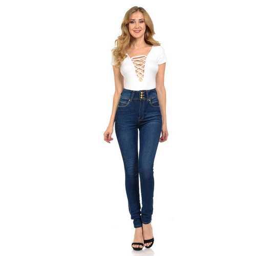 Diamante Women's Jeans - Push Up - Skinny - Style N192