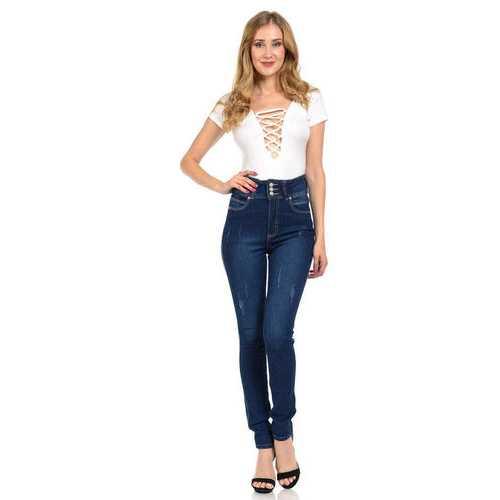 Diamante Women's Jeans - Push Up - Skinny - Style N204