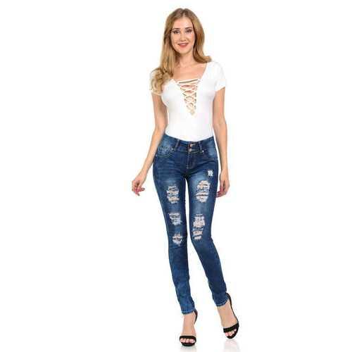 Diamante Women's Jeans - Push Up - Skinny - Style N2401-R