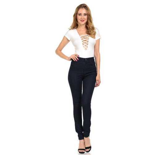 Diamante Women's Jeans - Push Up - Skinny - Style N520C