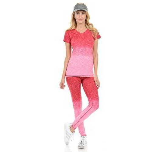 Diamante Women's Power Flex Yoga Pant Legging Sportswear - Style C008D