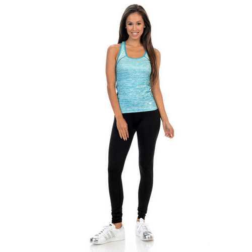 Diamante Women's Power Flex Yoga Pant Legging Sportswear - Style B03