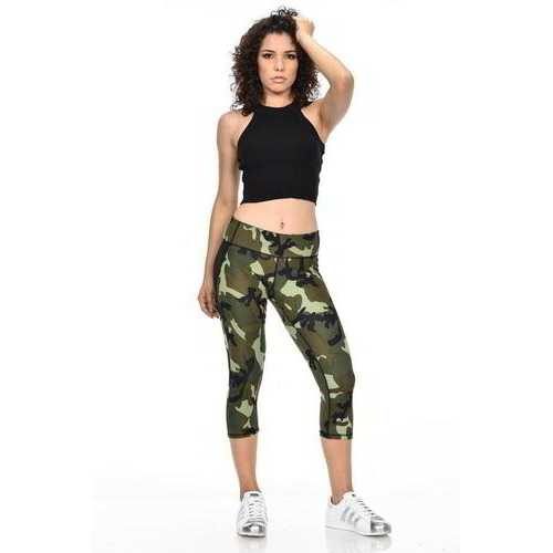 Diamante Women's Power Flex Yoga Pant Legging Sportswear - Style C160