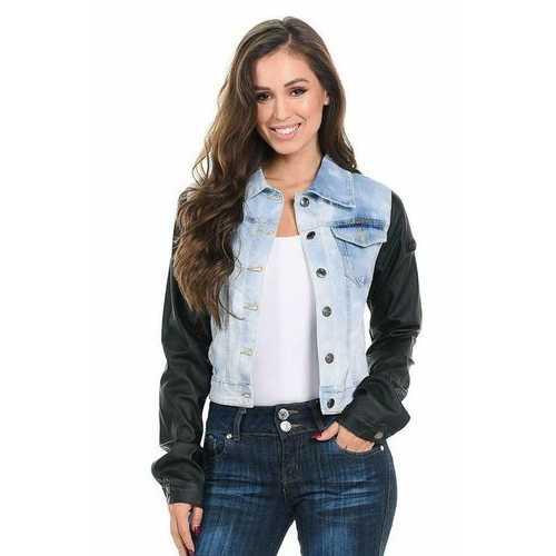 M.Michel Women's Denim Jacket - Style JAC-492