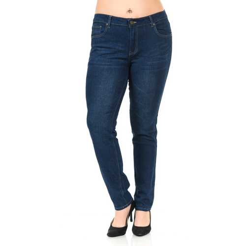Pasion Women's Jeans - Plus Size - High Waist - Push Up - Skinny - Style CH096