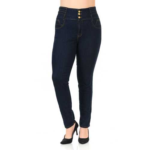Pasion Women's Jeans - Plus Size - High Waist - Push Up - Skinny - Style N448