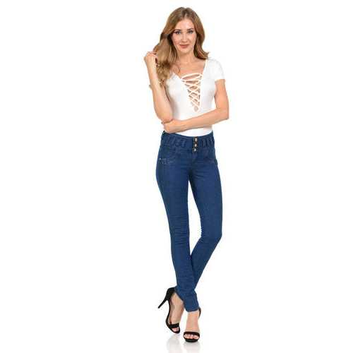 Pasion Women's Jeans - Push Up - Skinny -  Style G11