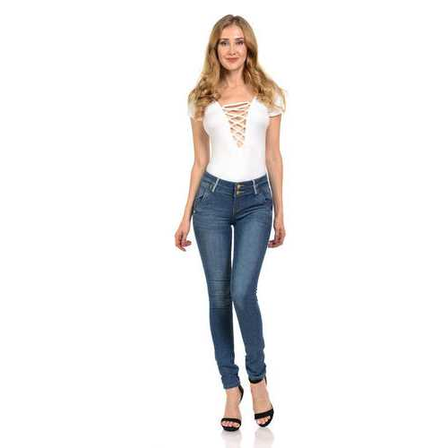 Pasion Women's Jeans - Push Up - Skinny -  Style M902