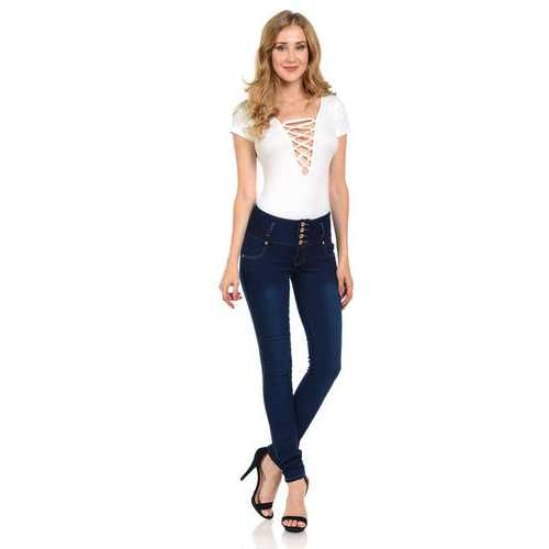 Pasion Women's Jeans - Push Up - Skinny -  Style N2841