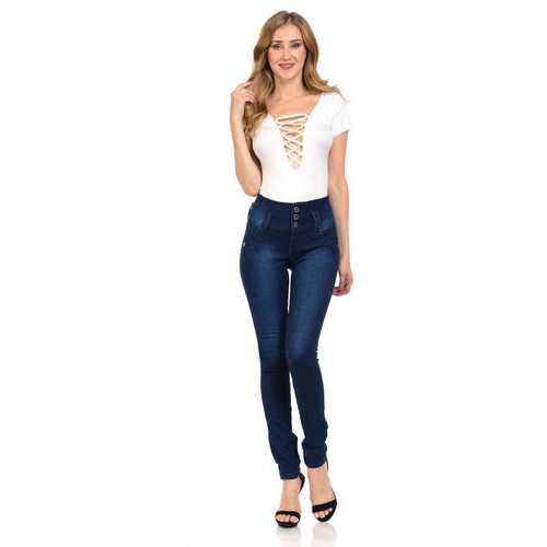 Pasion Women's Jeans - Push Up - Skinny -  Style N413