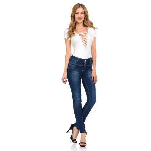 Pasion Women's Jeans - Push Up - Skinny -  Style N606