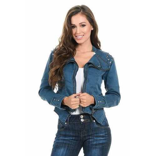 Sweet Look Women's Denim Jacket - Style N559A