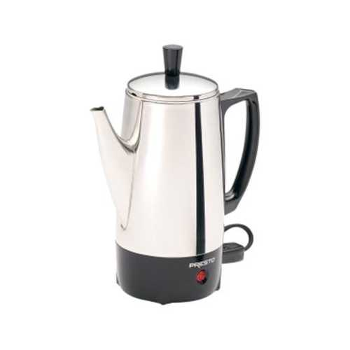 6 Cup Coffee Percolator SS