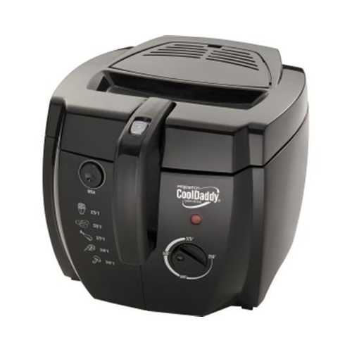 Cool Daddy Deep Fryer Blk