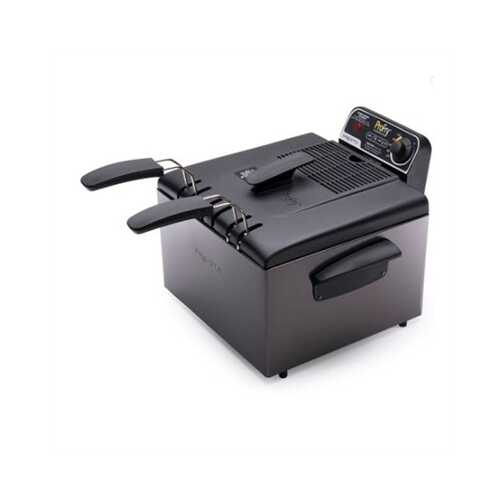 Pro Deep Fryer Blk Stainless