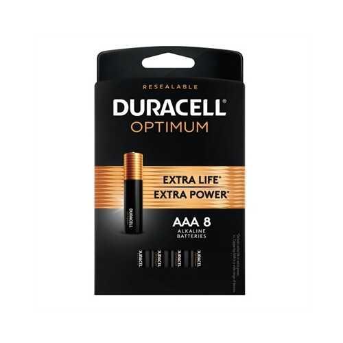 Duracell Optimum AAA 8 Pk