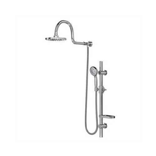 AquaRain Shower System Chrome