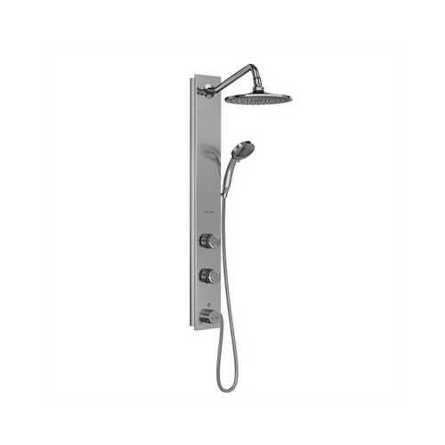Aloha Shower System Silver